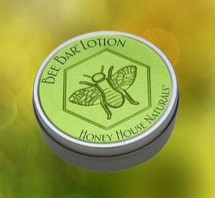 Honey House solid lotion bar.